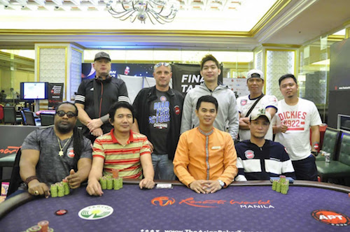 APT Kickoff 2017 Welcome Event Final Table