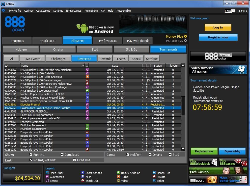 aces places poker league